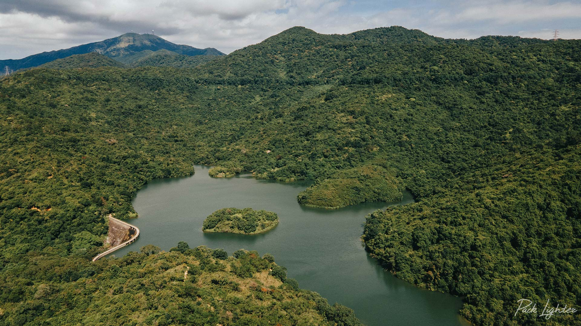 Ho Pui Reservoir In Lush Green Tai Lam Country Park